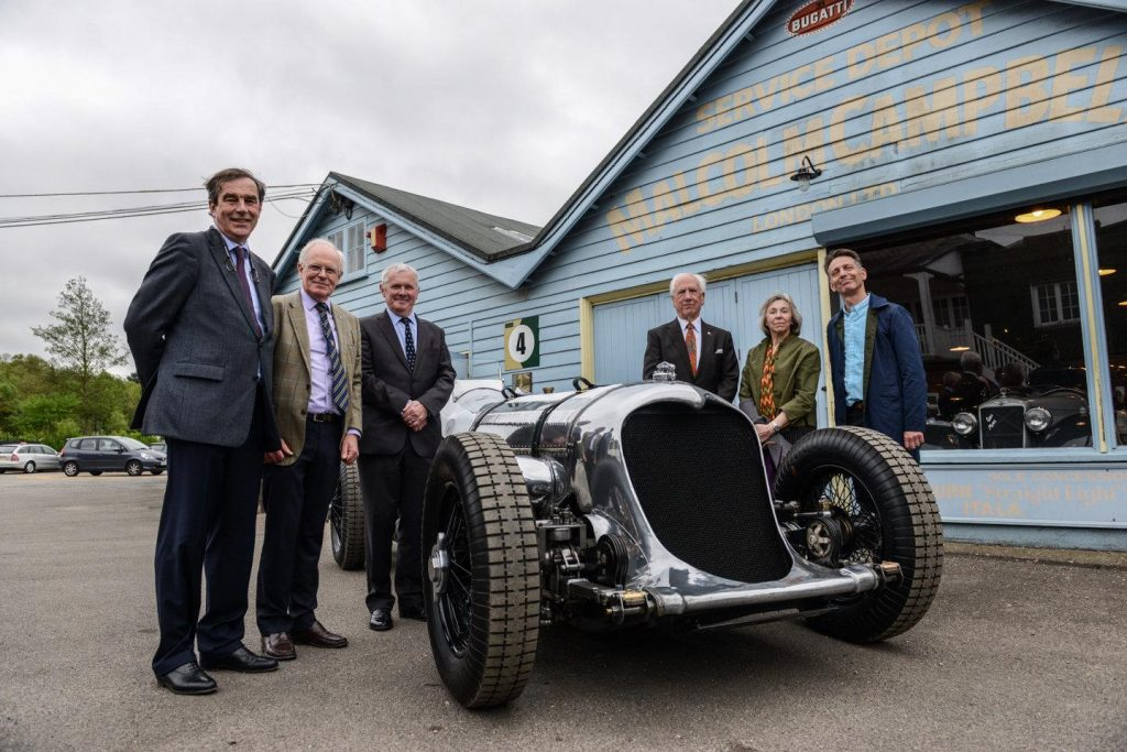 Cobb's mighty Napier Railton