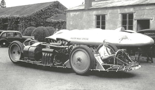 John Cobb in the Railton Mobil Special