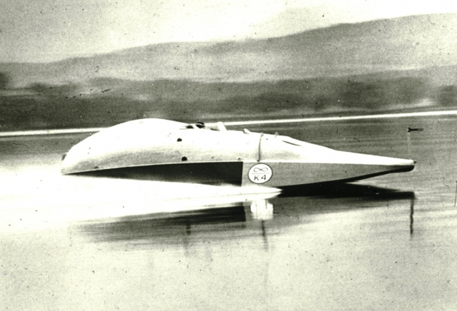 Sir Malcolm Campbell Bluebird K4